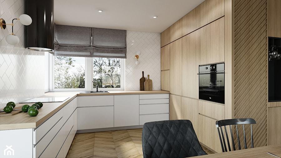 Dom pod Aleksandrowem Łódzkim - Kuchnia, styl nowoczesny - zdjęcie od Przestrzenie