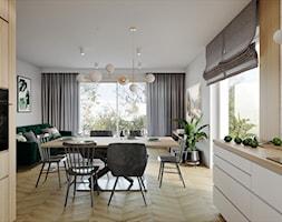 Dom pod Aleksandrowem Łódzkim - Jadalnia, styl nowoczesny - zdjęcie od Przestrzenie - Homebook
