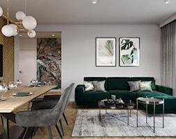Dom pod Aleksandrowem Łódzkim - Salon, styl nowoczesny - zdjęcie od Przestrzenie - Homebook