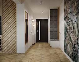 Dom pod Aleksandrowem Łódzkim - Hol / przedpokój, styl nowoczesny - zdjęcie od Przestrzenie - Homebook