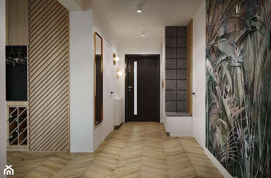 Dom pod Aleksandrowem Łódzkim - Hol / przedpokój, styl nowoczesny - zdjęcie od Przestrzenie