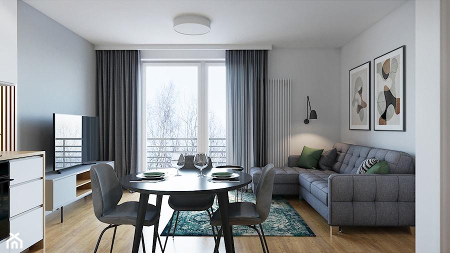 Kraków, Pękowicka - mieszkanie na wynajem - Salon, styl nowoczesny - zdjęcie od Przestrzenie