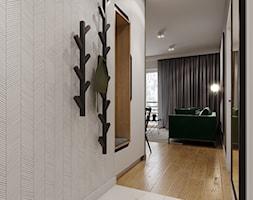 Mieszkanie w leśnym klimacie - Hol / przedpokój, styl nowoczesny - zdjęcie od Przestrzenie - Homebook