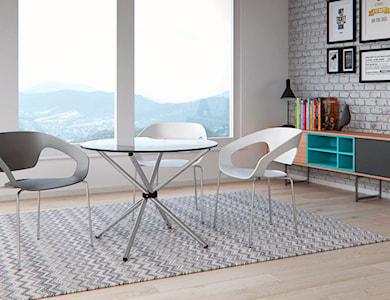 Krzesło - D2 - Space białe - zdjęcie od DecoMania.pl