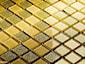 Mozaika szklana brokatowa - Primavera by Fabrizio Moretti - BM125 złota - zdjęcie od DecoMania.pl