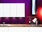 Płytka szklana 3D Mazu - Dunin - Violet Silk - zdjęcie od DecoMania.pl