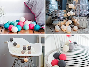 Oświetlenie Cotton Balls