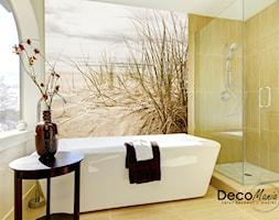 Fototapety ścienne – galeria inspiracji - Mała średnia łazienka z oknem - zdjęcie od DecoMania.pl