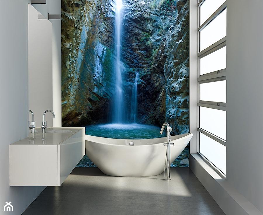 łazienka Z Fototapetą Aranżacje Pomysły Inspiracje Homebook