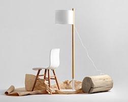 Lampa podłogowa - CustomForm - Lilu Floor biały - zdjęcie od DecoMania.pl