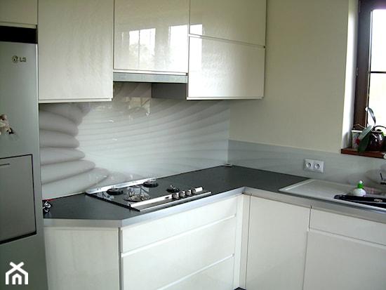 Szkło hartowane do kuchni  Ideabook użytkownika DecoMania pl  Homebook pl -> Kuchnia Do Zabudowy Z Plytą Gazową Na Szkle