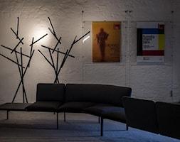 Lampa stojąca Foscarini - Tuareg - czarny chrom - zdjęcie od DecoMania.pl