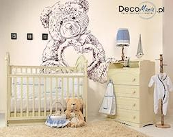 Pokój dziecięcy z misiem - zdjęcie od DecoMania.pl
