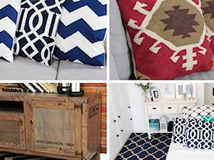 Naturalne dywane i poduszki White Oaks