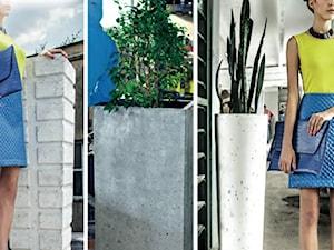 Donice i akcesoria z betonu