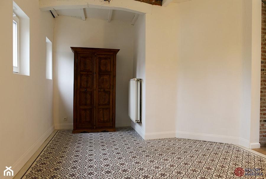 Ekskluzywne Cementowe Płytki Stylizowane Na Wzór Marokański