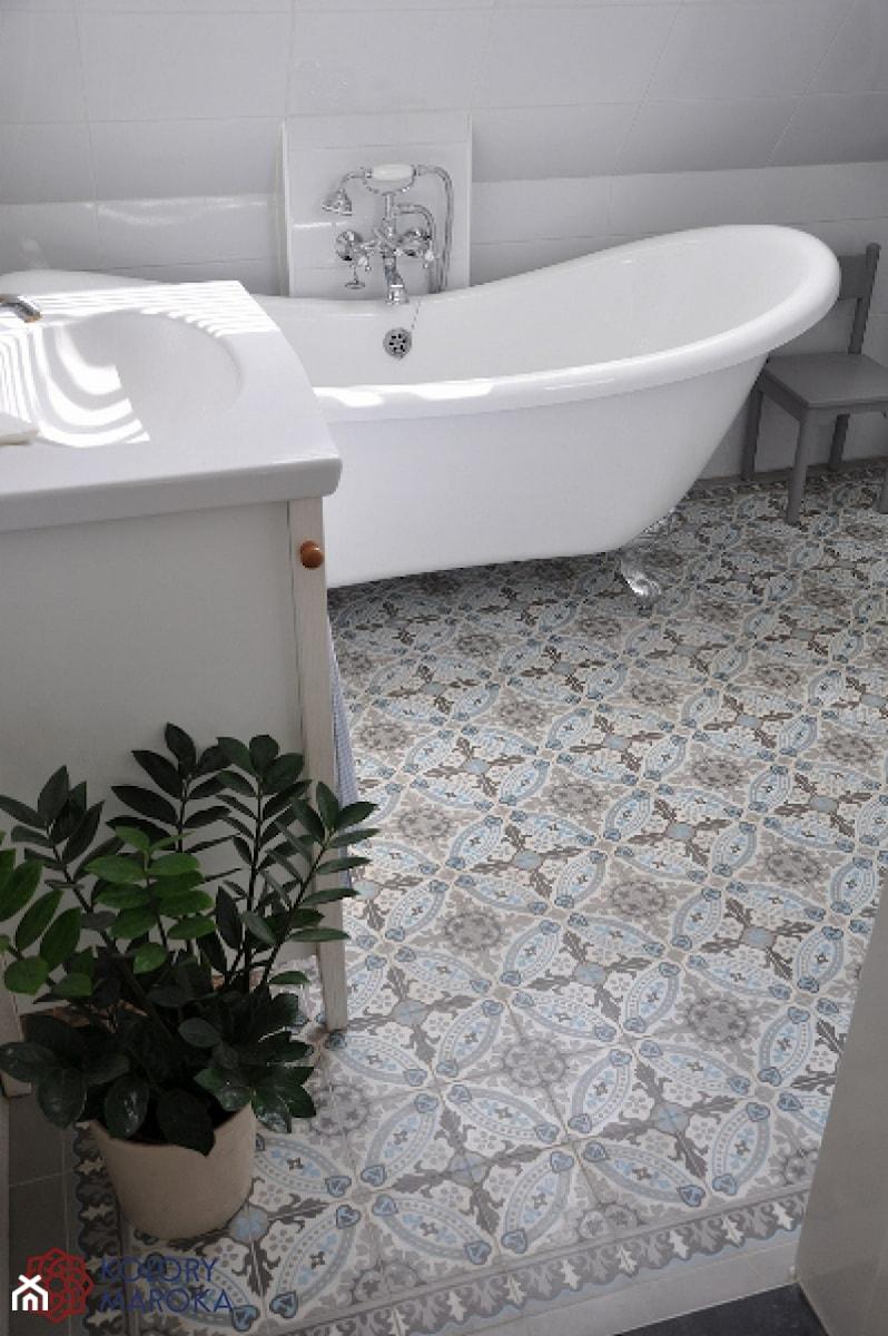 Ekskluzywne cementowe p ytki w stylu maroka skim zdj cie od kolory maroka homebook - Ouderwetse badkamer ...