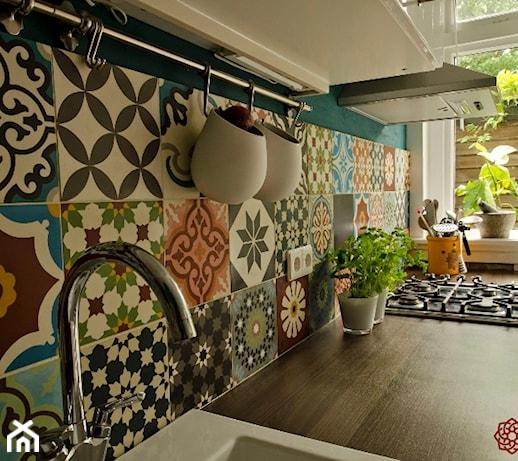 ekskluzywne cementowe p ytki stylizowane na wz r maroka ski zdj cie od kolory maroka. Black Bedroom Furniture Sets. Home Design Ideas