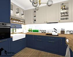 Granat w kuchni - zdjęcie od DISENO Sabina Kalawska-Matwiej - Homebook