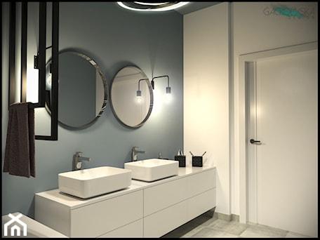 Aranżacje wnętrz - Łazienka: projekt domku - GACKOWSKA DESIGN - GACKOWSKA DESIGN. Przeglądaj, dodawaj i zapisuj najlepsze zdjęcia, pomysły i inspiracje designerskie. W bazie mamy już prawie milion fotografii!