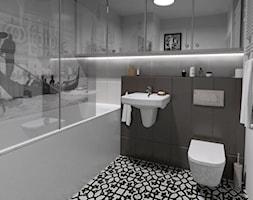projekt łazienki Cat Inside Projektowanie Wnętrz - zdjęcie od GACKOWSKA DESIGN