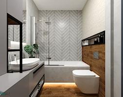 łazienka, projekt wg GACKOWSKA DESIGN - zdjęcie od GACKOWSKA DESIGN