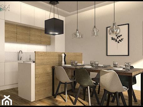 Aranżacje wnętrz - Kuchnia: projekt domku - GACKOWSKA DESIGN - GACKOWSKA DESIGN. Przeglądaj, dodawaj i zapisuj najlepsze zdjęcia, pomysły i inspiracje designerskie. W bazie mamy już prawie milion fotografii!
