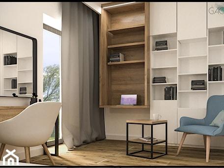 Aranżacje wnętrz - Sypialnia: projekt domku - GACKOWSKA DESIGN - GACKOWSKA DESIGN. Przeglądaj, dodawaj i zapisuj najlepsze zdjęcia, pomysły i inspiracje designerskie. W bazie mamy już prawie milion fotografii!