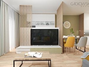 apartament w Wilanowie - projekt i realizacja GACKOWSKA DESIGN
