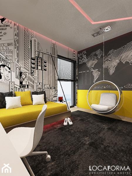 Mieszkanie w Legnicy_Styl nowoczesny - Pokój dziecka, styl nowoczesny - zdjęcie od Locaforma - Homebook