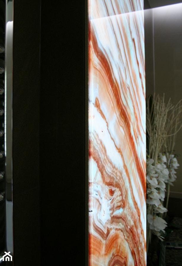łazienkowe Dekoracje Podświetlane Led Panel Szklany