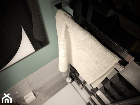 Aranżacje wnętrz - Łazienka: Łazienka w rozmiarze XS - Mała miętowa łazienka, styl nowoczesny - EnigmaVisualDesign. Przeglądaj, dodawaj i zapisuj najlepsze zdjęcia, pomysły i inspiracje designerskie. W bazie mamy już prawie milion fotografii!