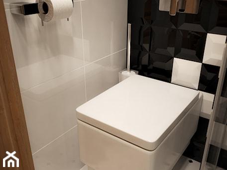 Aranżacje wnętrz - Łazienka: Łazienka w rozmiarze XS - Mała łazienka, styl nowoczesny - EnigmaVisualDesign. Przeglądaj, dodawaj i zapisuj najlepsze zdjęcia, pomysły i inspiracje designerskie. W bazie mamy już prawie milion fotografii!
