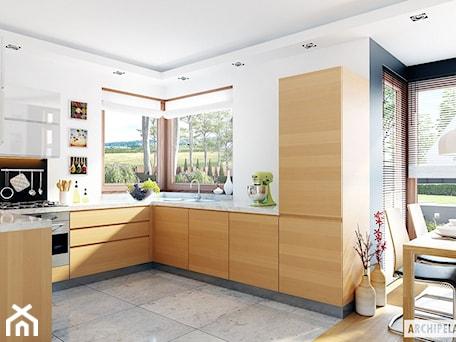 Aranżacje wnętrz - Kuchnia: Projekt domu Mati G1 - wizualizacja kuchni - ARCHIPELAG Pracownia Projektowa . Przeglądaj, dodawaj i zapisuj najlepsze zdjęcia, pomysły i inspiracje designerskie. W bazie mamy już prawie milion fotografii!