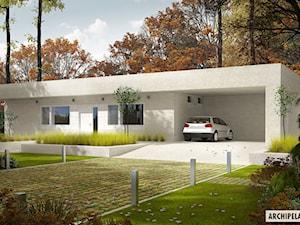 Projekt domu EX 6 ENERGO PLUS Z WIATĄ