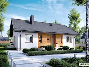 Projekt domu Kornel V ENERGO - prosto i przytulnie