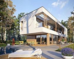 Projekt domu EX 17 W2 ENERGO PLUS - Domy, styl nowoczesny - zdjęcie od ARCHIPELAG Pracownia Projektowa - Homebook