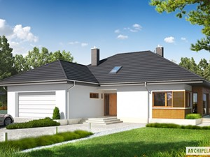 Projekt domu Marcel G2 – wygoda i nowoczesna elegancja