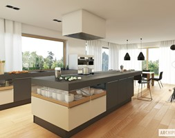 Projekt+domu+Neo+G1+ENERGO+-+wizualizacja+kuchni+-+zdj%C4%99cie+od+ARCHIPELAG+Pracownia+Projektowa