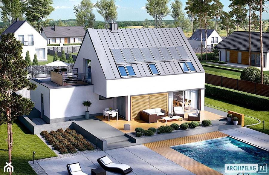 Projekt domu Lars G2 (wersja B) ENERGO PLUS - zdjęcie od ARCHIPELAG Pracownia Projektowa
