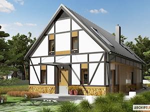Projekt domu EX 15 Energo plus– modne połączenia i współczesne wzornictwo