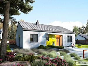Projekt domu Mini 3 PLUS z wizualizacją wnętrz