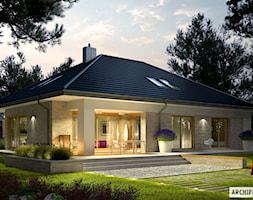 Projekt+domu+Marcel+IV+G2+-+zdj%C4%99cie+od+ARCHIPELAG+Pracownia+Projektowa