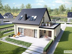 Projekt domu E14 II ECONOMIC - zdjęcie od ARCHIPELAG Pracownia Projektowa