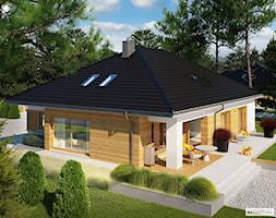 Projekt domu Marcel III G2 ENERGO PLUS - Domy, styl nowoczesny - zdjęcie od ARCHIPELAG Pracownia Projektowa - Homebook