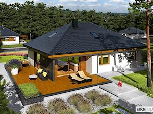 Projekt domu Astrid (mała) II G2 - zdjęcie od ARCHIPELAG Pracownia Projektowa