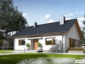 Projekt domu Swen II - subtelna elegancja