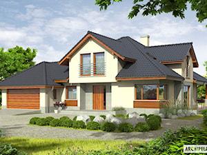 Projekt domu Naomi G2 - komfort przestrzeni