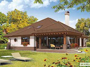 Projekt domu Seweryna G2 Mocca - zdjęcie od ARCHIPELAG Pracownia Projektowa