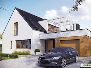 Projekt domu Neo G1 ENERGO - nowoczesność w parze z funkcjonalnością